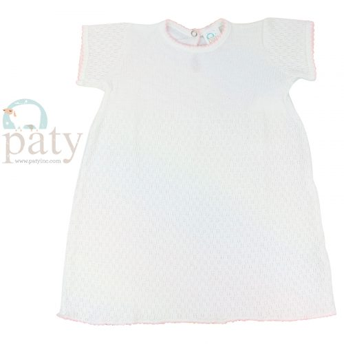 Paty Knit Short Sleeve Dress #103