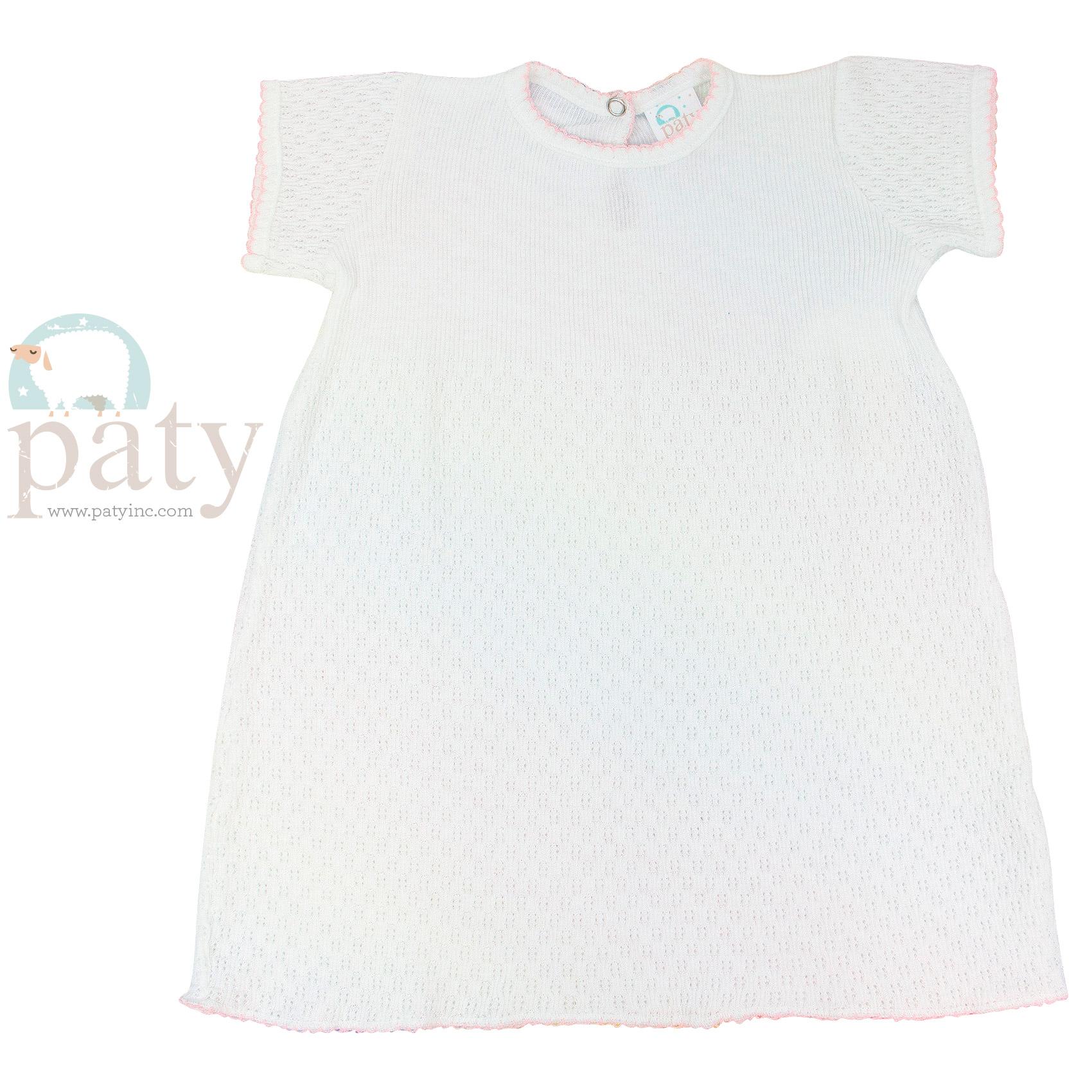 Paty Knit Short Sleeve Dress #103
