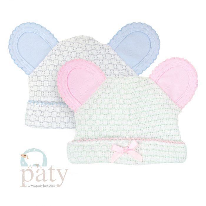Paty Pinstripe Bear Cap w/ Trim Options