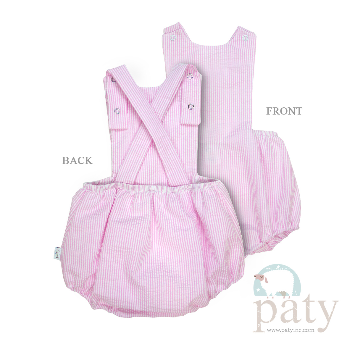 a724c9dbd Seersucker Girl Overall Bubble – Paty, Incorporated