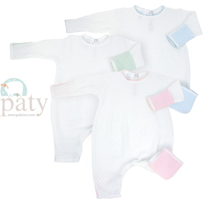 Paty LS Rompers with Cuffs