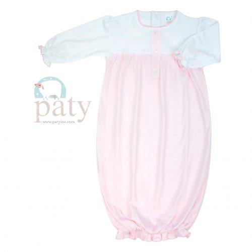 Pink Sweet Stripes Gown