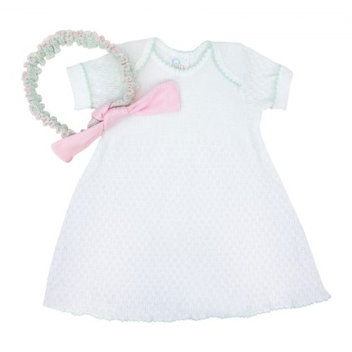 Gift Set White Dress with Headband