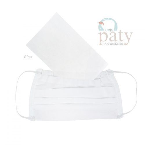 White Paty Face Mask