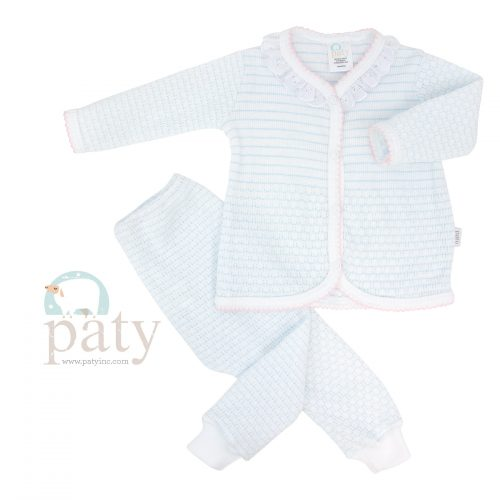 Paty 2 PC Set LS Top with Pants