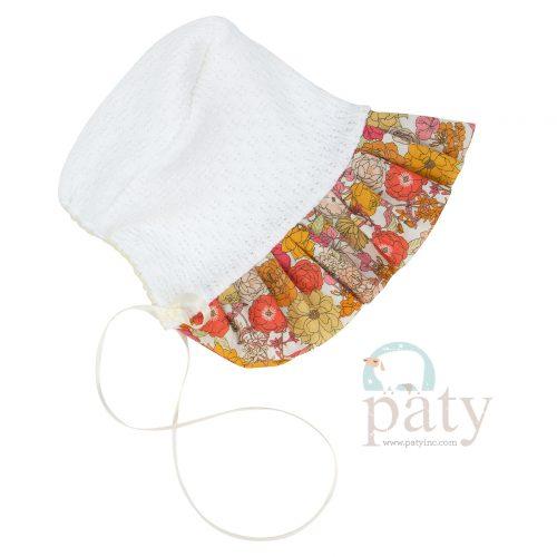 Floral Bonnet
