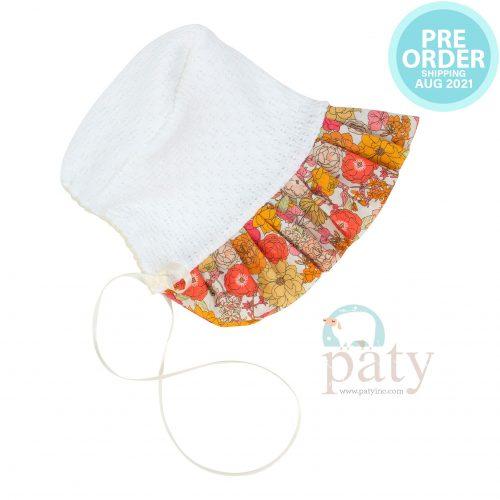 Preorder Floral Bonnet