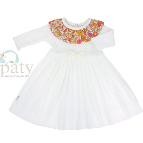 Paty Knit Floral Dress
