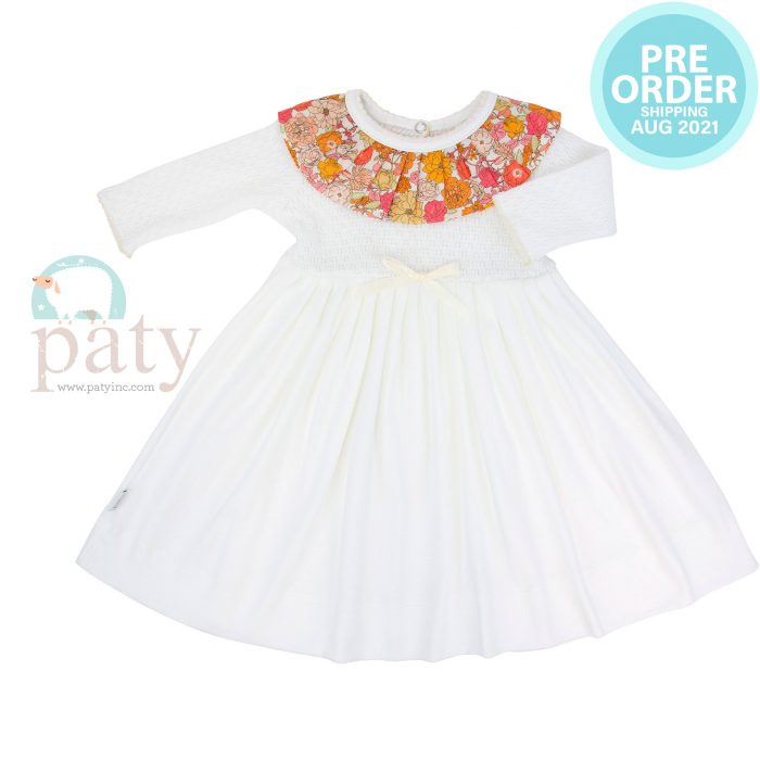 Preorder Paty Knit Floral Dress
