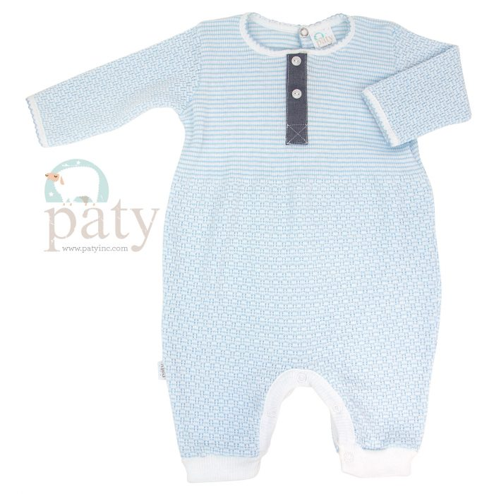 Paty Romper w/ 2 Buttons Front