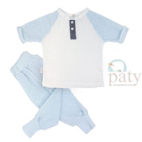 Paty Blue Jogger Set