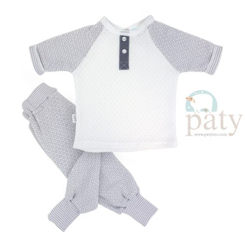 Paty Grey Jogger Set