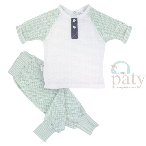 Paty Mint Jogger Set