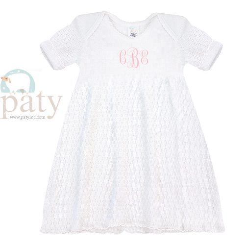 Monogrammed Paty Dress