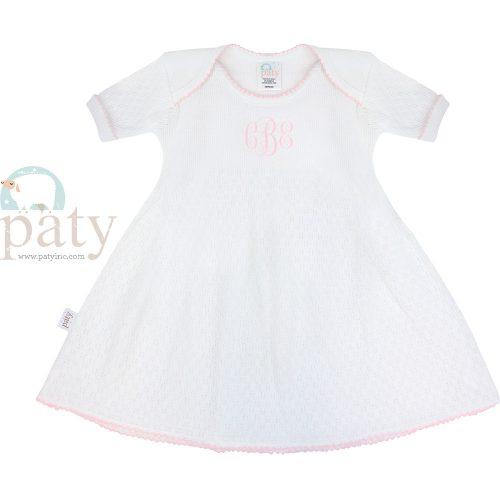 Monogrammed Paty Dress