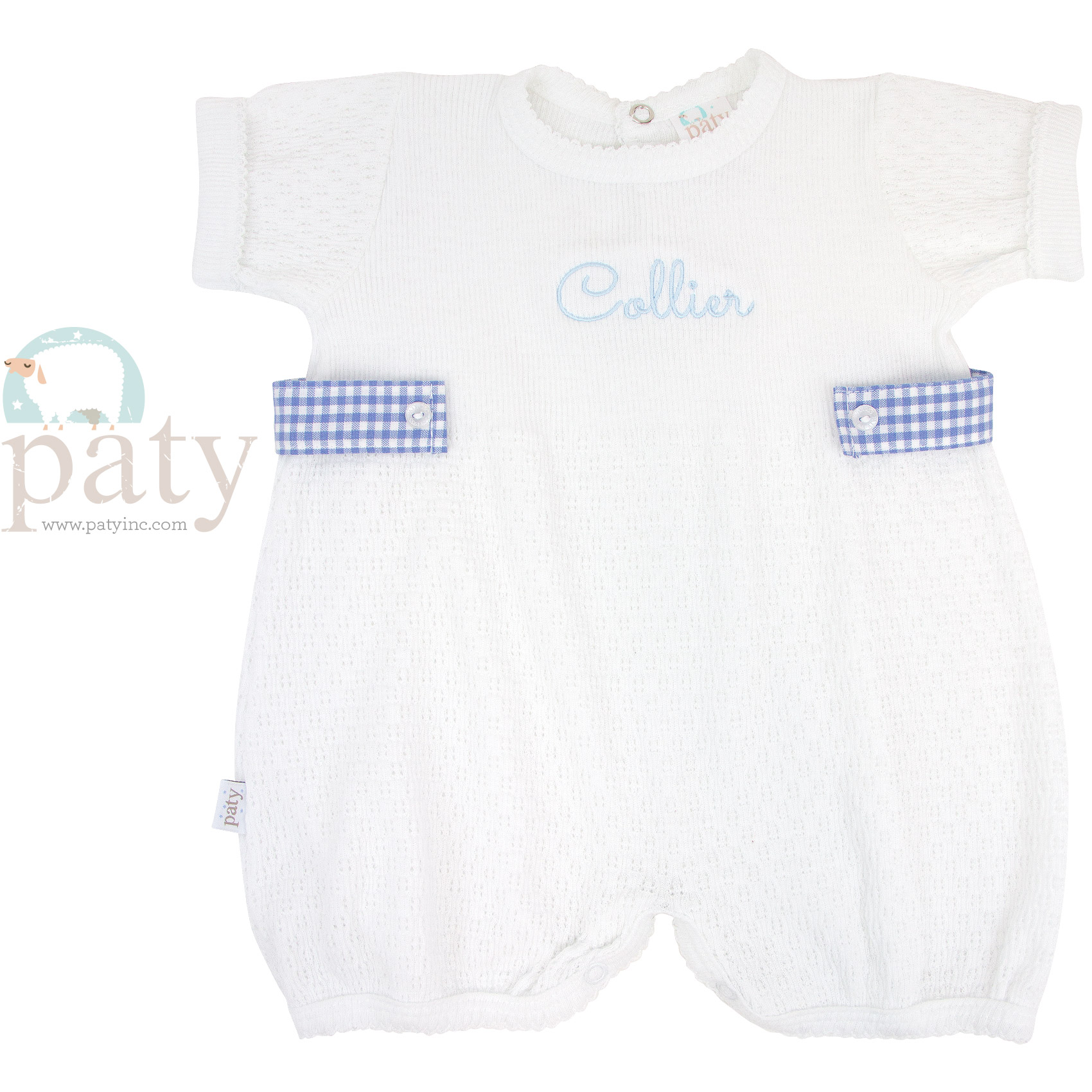Monogrammed Paty Bubble