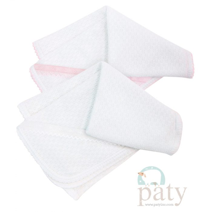 Paty Blanket with Beautiful Lace