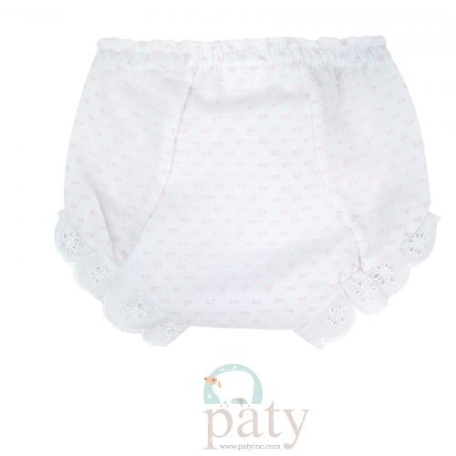 Girl's Dotted Swiss Diaper Cover