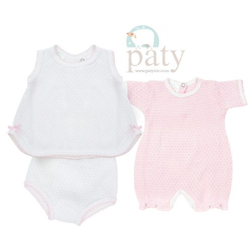 Bubble and 2 PC Sleeveless Top with Diaper Covers